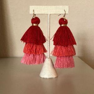 Ombré Tassel Earrings